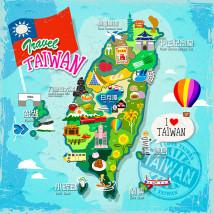 台湾 地図