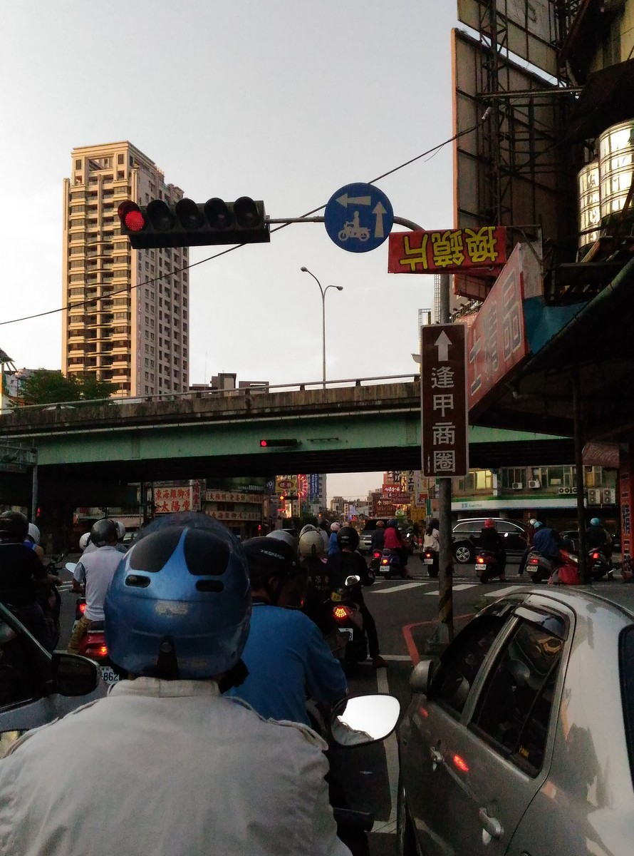 台湾人の生活必需品スクーター