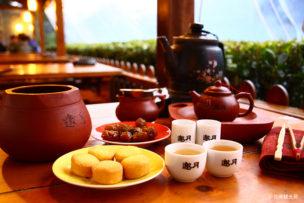 台北郊外 猫空にある遊月茶房