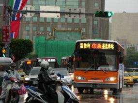 バスの乗り方(台北)