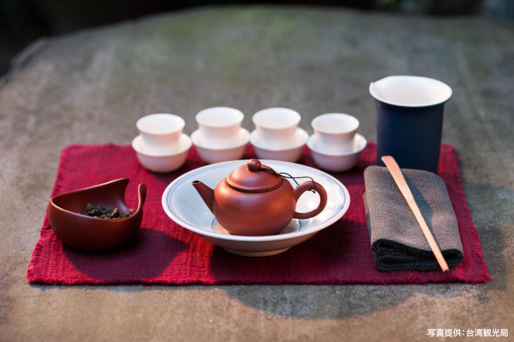 上品な茶藝道具一式