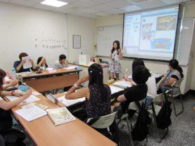 台湾(淡江大学)での中国語授業風景